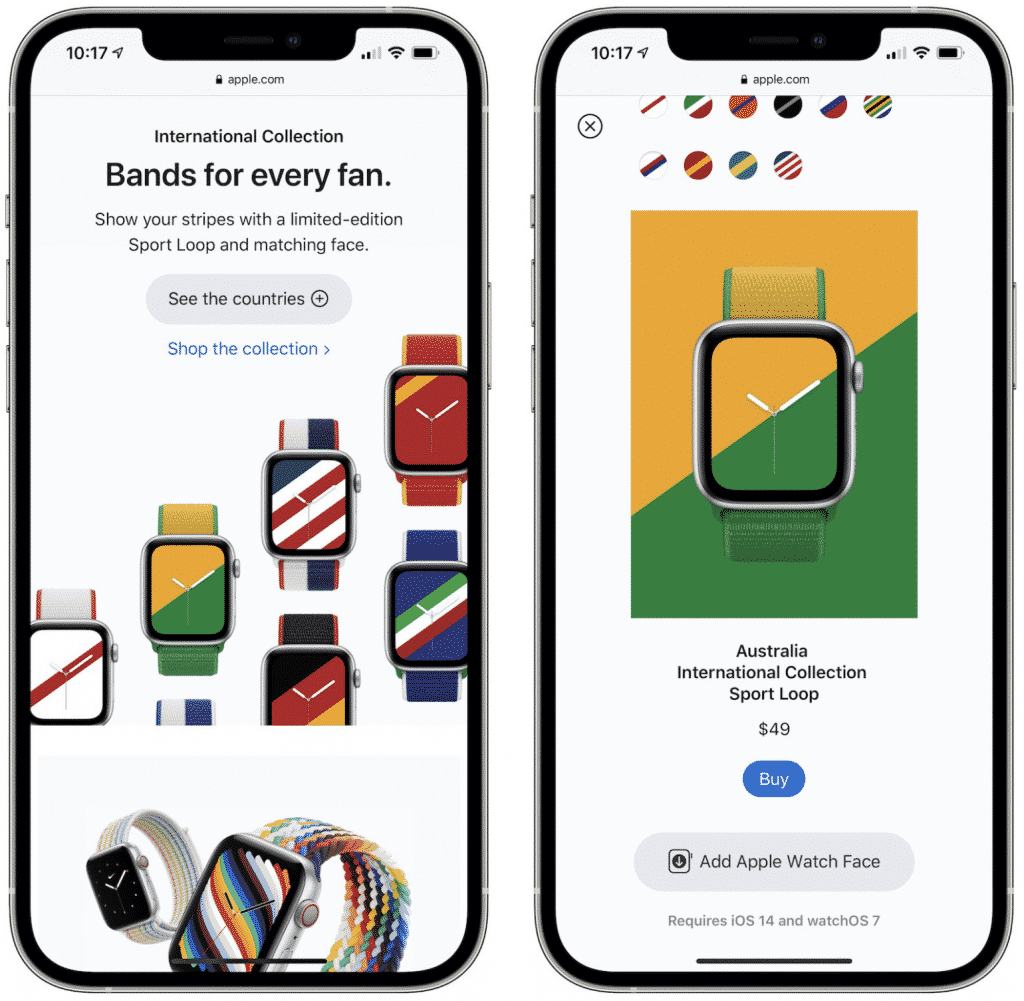 New Sport Loop bands for Apple Watch