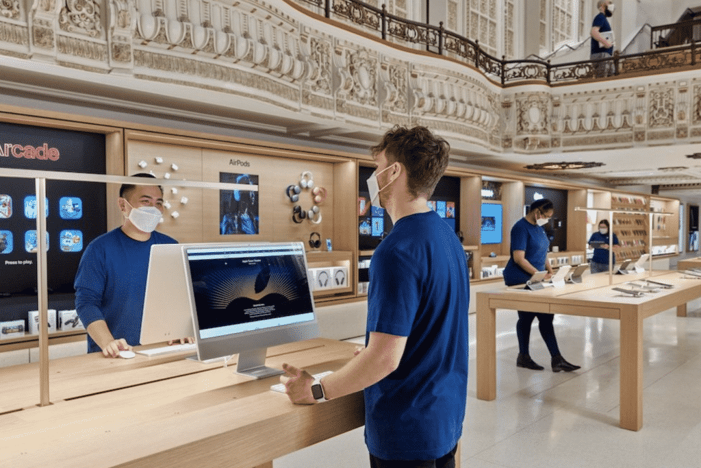 Apple Tower Theatre Store