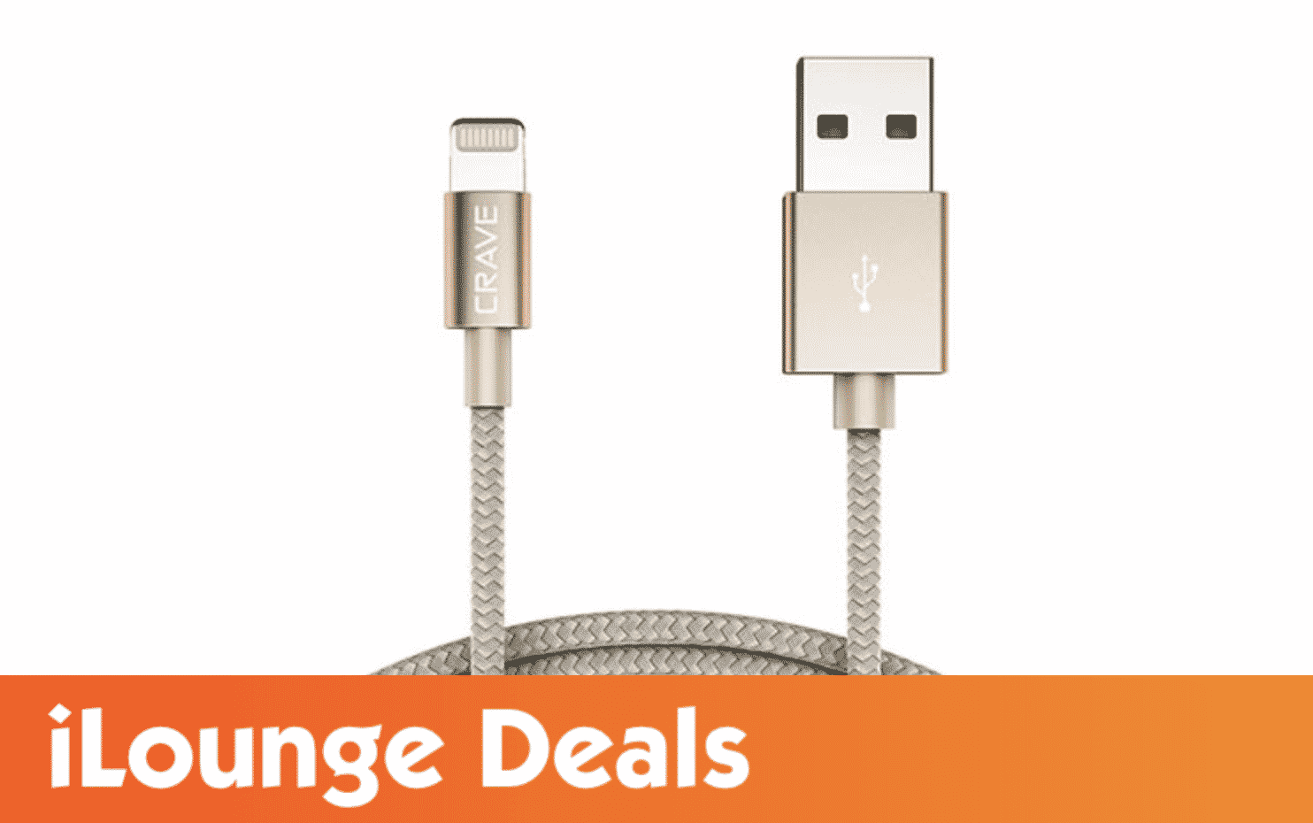 Crave 4Ft Lightning to USB Cable