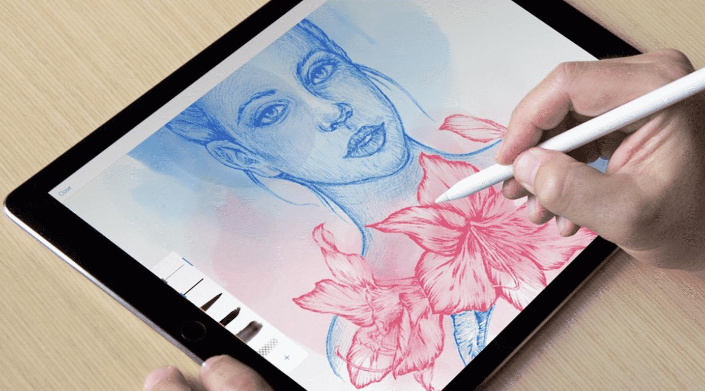 Illustrator Draw and Photoshop Sketch