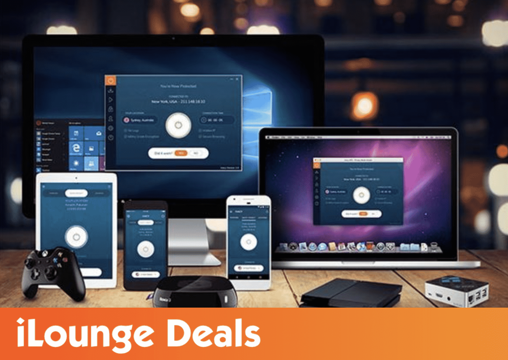 Ivacy Lifetime Subscription (5 Devices): 2-Pack
