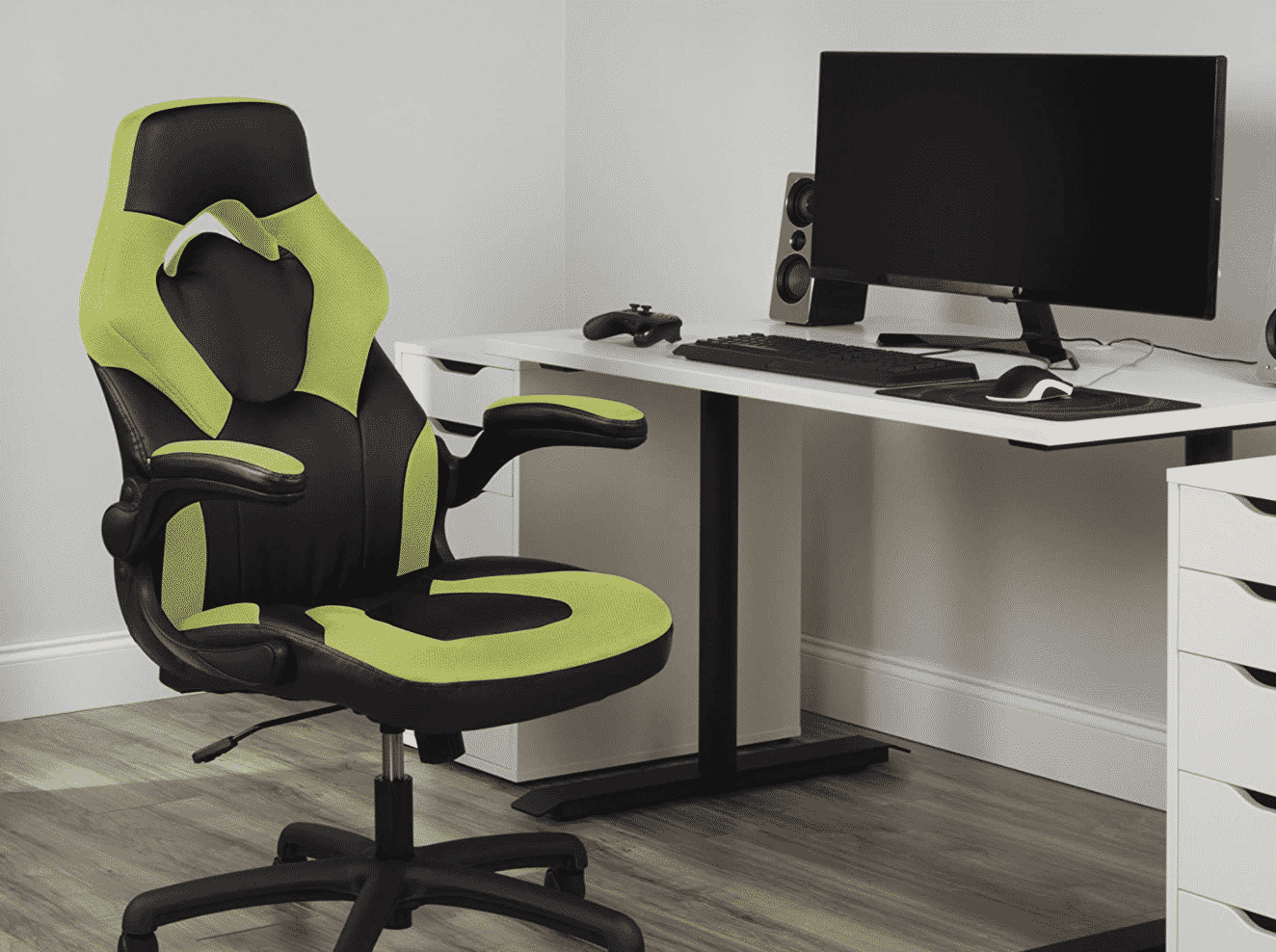 OFM Racing Style Leather Gaming Chair