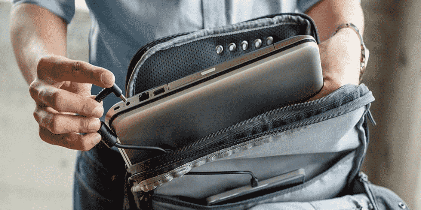 The Best Men's Leather Backpacks in Technology Time