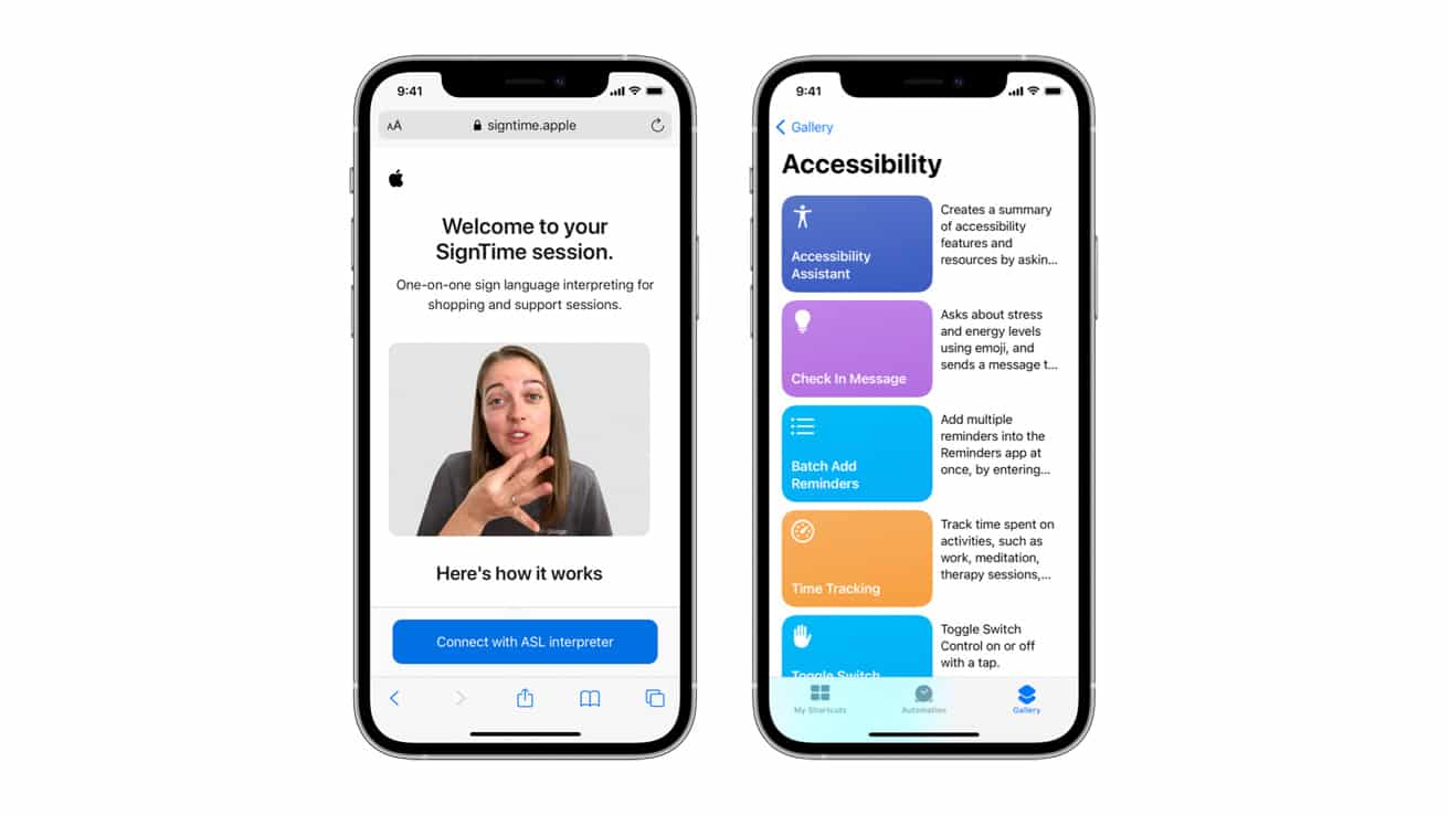Apple releases new software features for people with disabilities