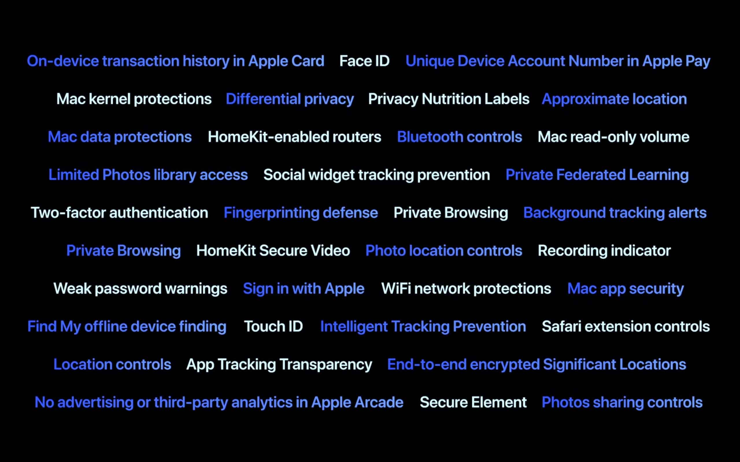 Apple introduces new security features at WWDC