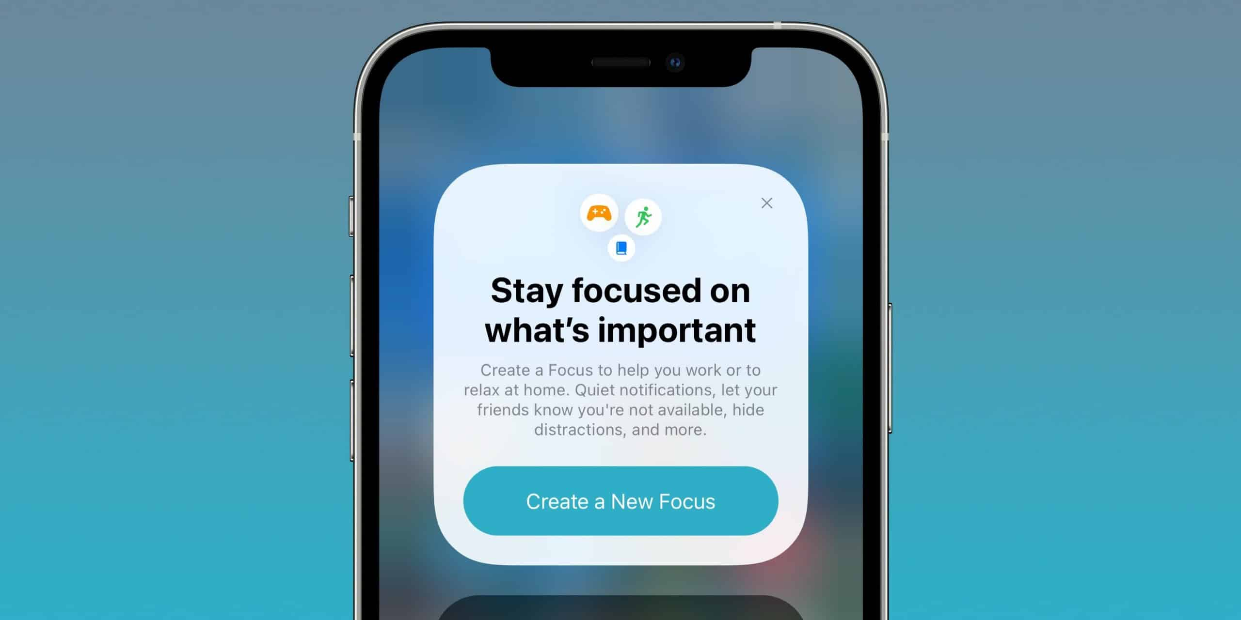 iOS 15 brings new focus features to manage notifications