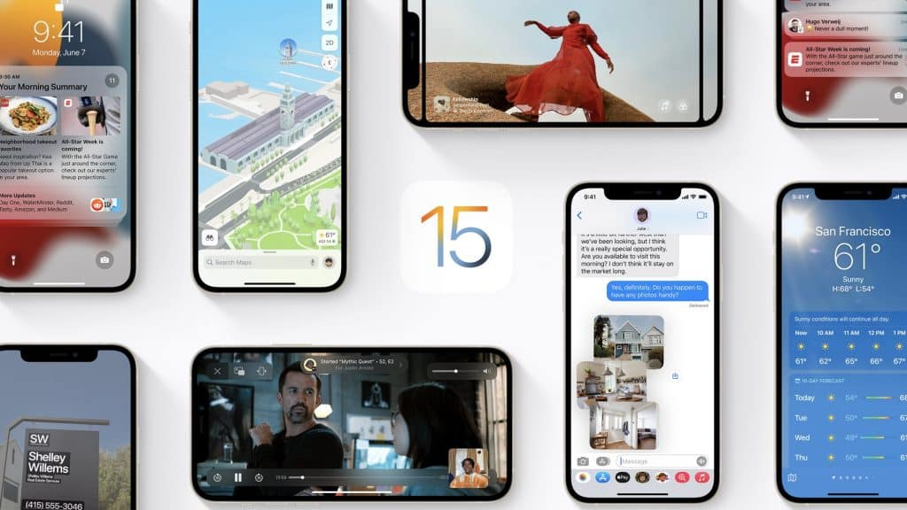 Apple unveils iOS 15: Updates to FaceTime, Wallet, Focus, and Maps