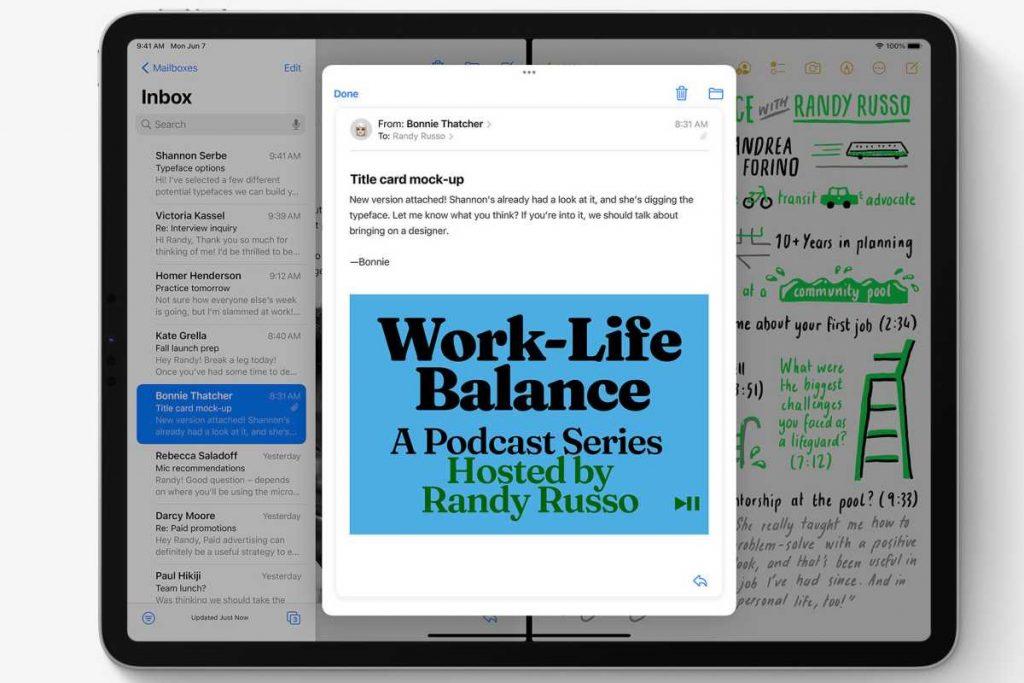 iPadOS 15 multitasking features