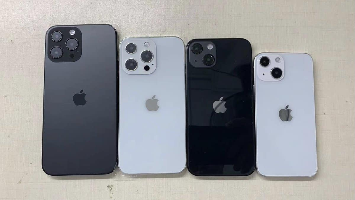 iPhone 13 and iPhone 13 Pro design leaked by Sonny Dickson