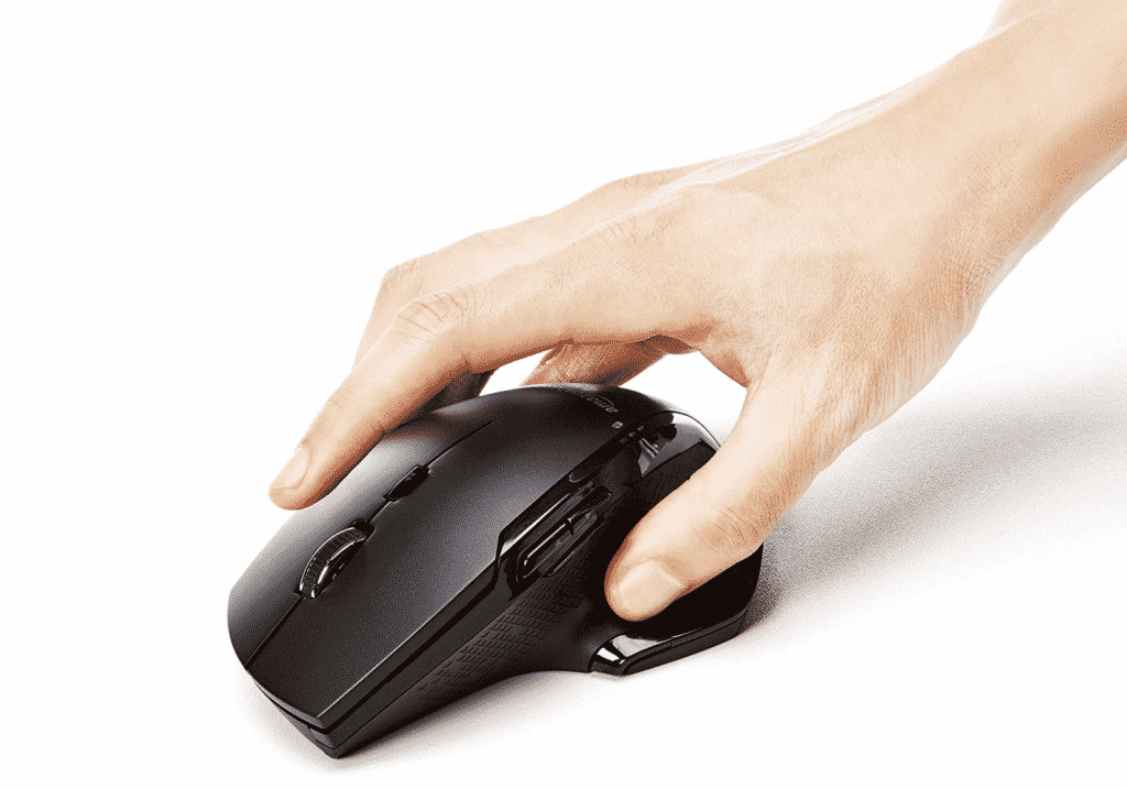 Ergonomic Wireless PC Mouse with Fast Scrolling