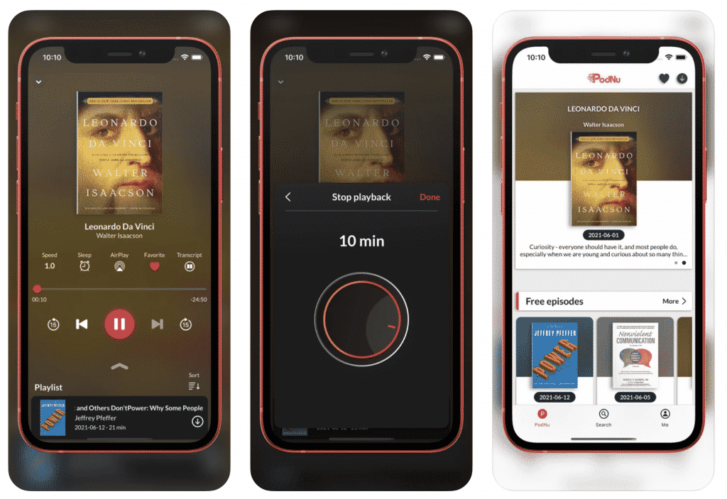PodNu is the Perfect App for Book Lovers, Podcast Enthusiasts and Those Who Want a Meaningful Book Experience