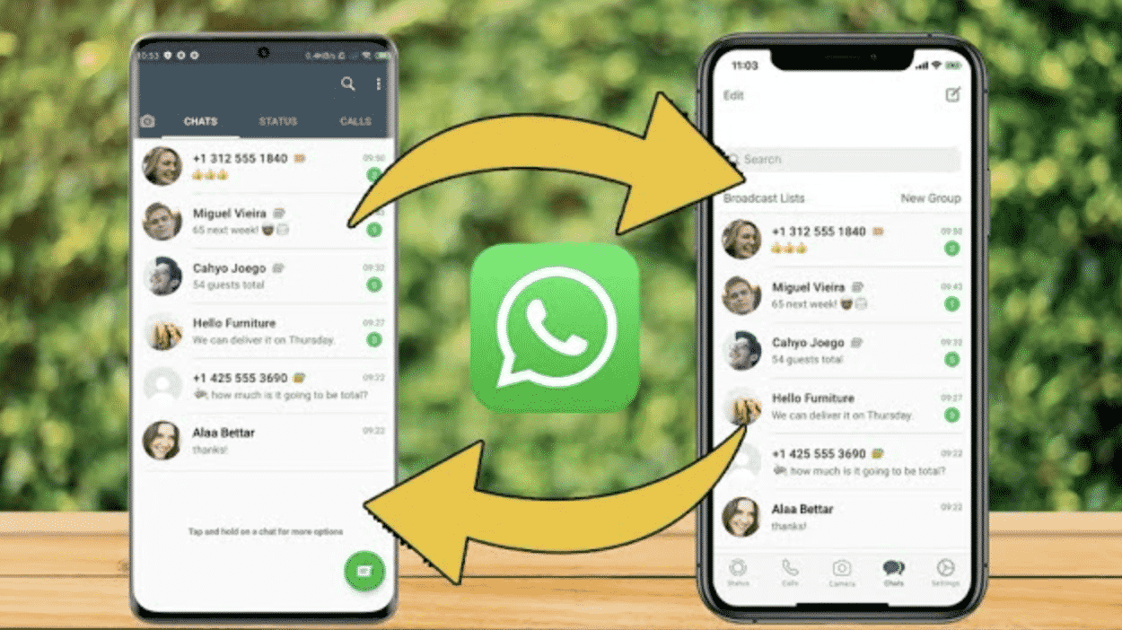 Reliable Ways you can Transfer WhatsApp from Android to iPhone