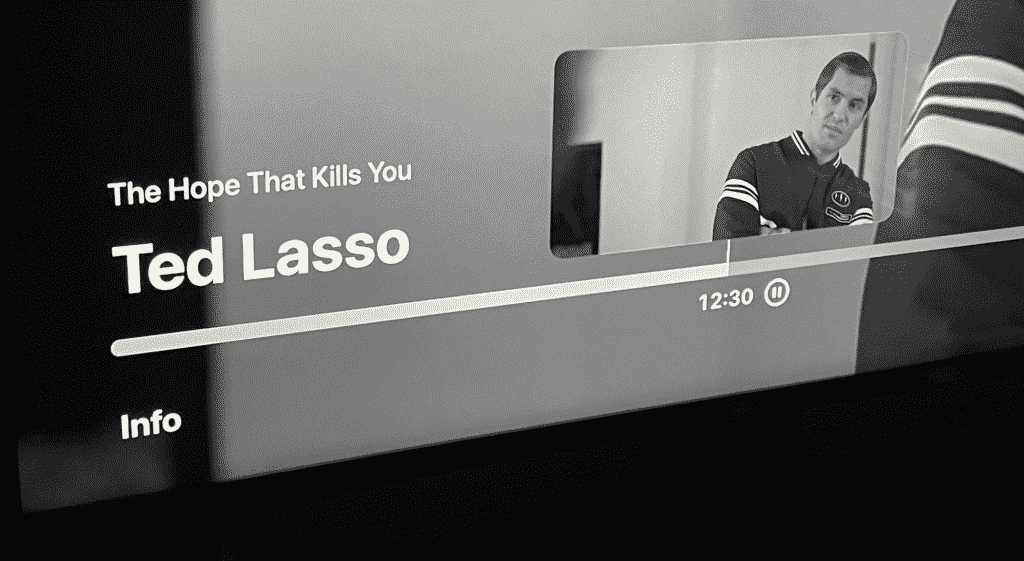tvOS 15 with Ted Lasso