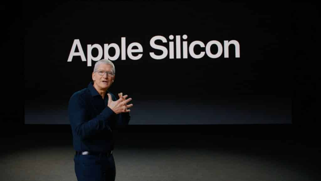 Apple Silicon - Tim Cook