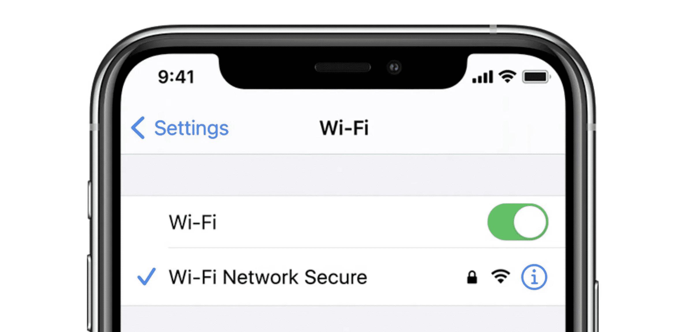 iPhone Wi-Fi Bug