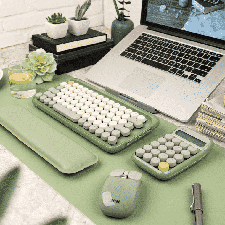 Mid-Year Sale 2021: Retro Wireless Keyboard Colors Your Summer