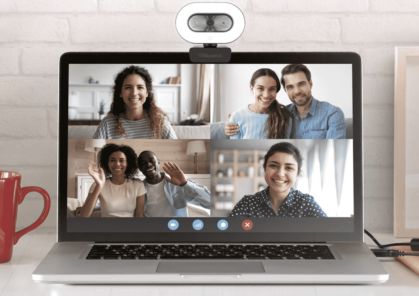 Aluratek Full HD 1080P USB Webcam