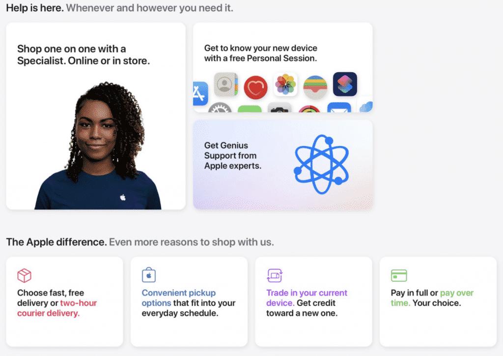 Redesigned Apple.com