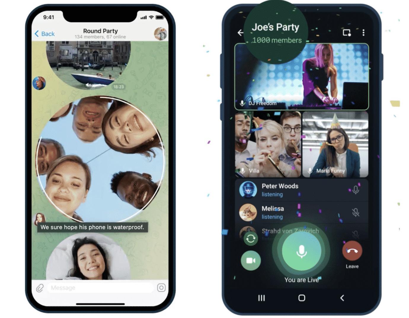 Telegram Messenger Update