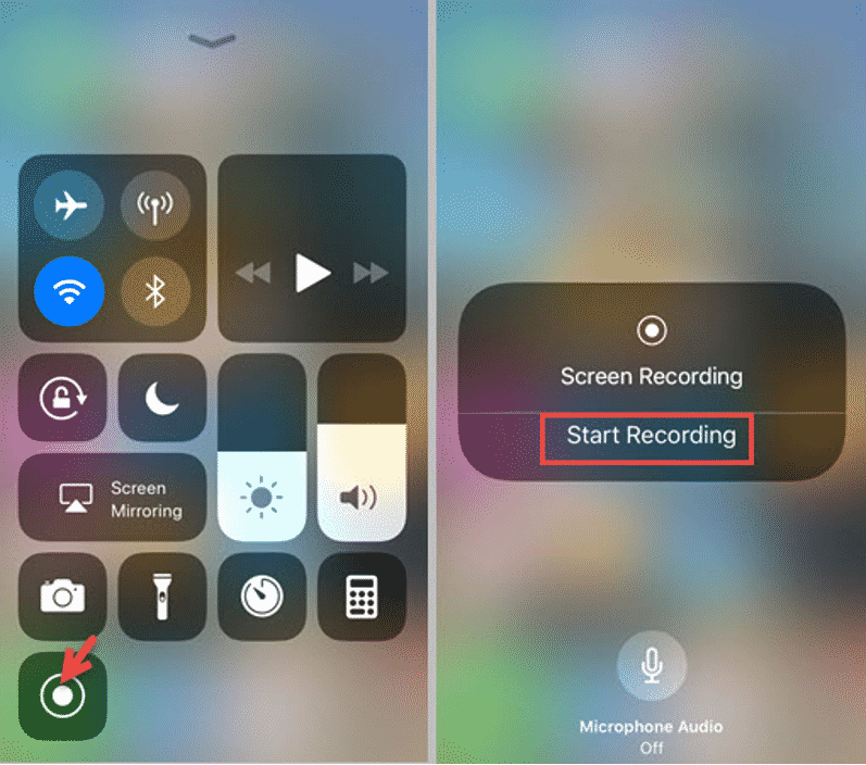 3 methods to record iPhone screen with background sound