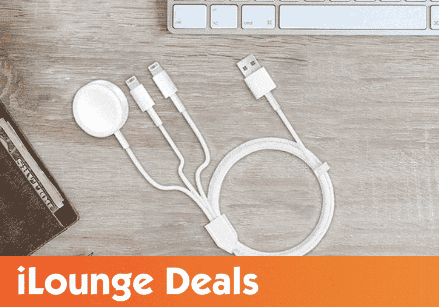 3-in-1 Apple Watch, AirPods & iPhone Charger