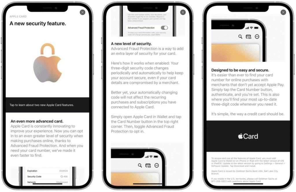 Apple Card in iOS 15