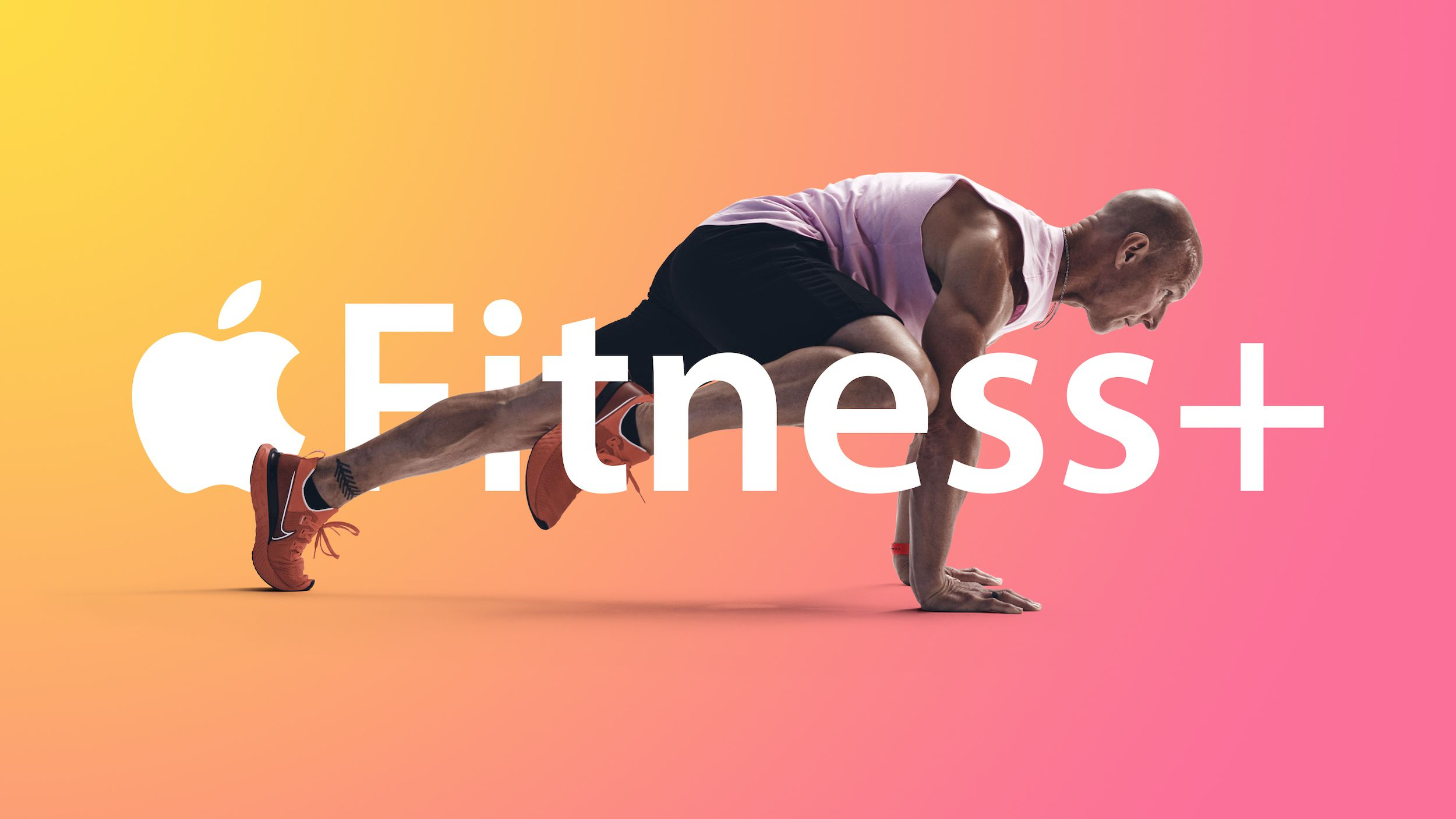 Apple promotes its new Fitness+ pilates and meditation workouts