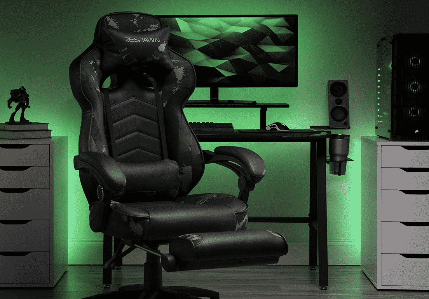 Camouflage-Designed Gaming Chair