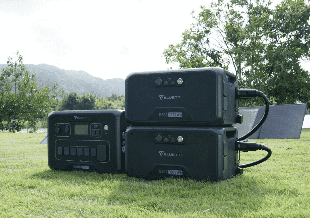Forget Gas Generators- the Future is Solar with the Bluetti AC300