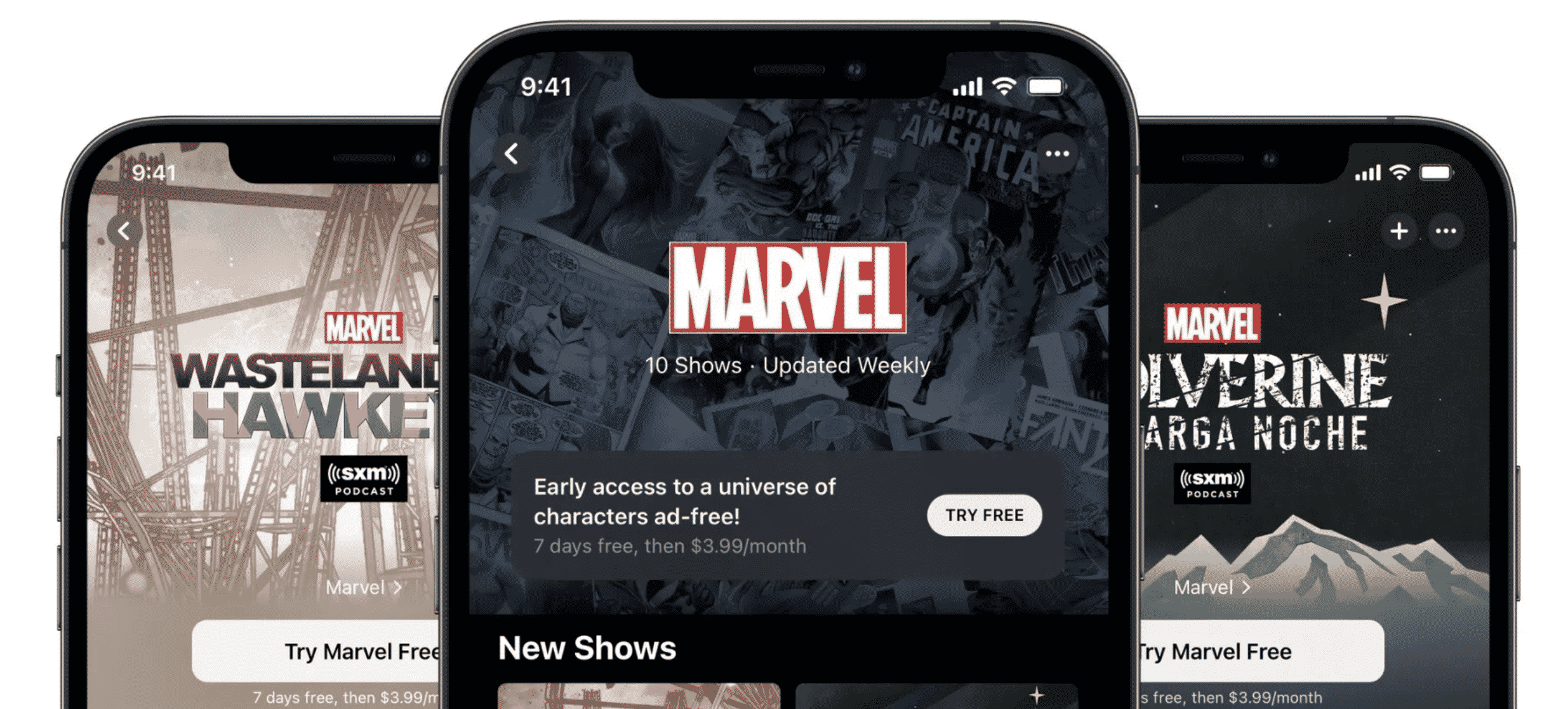Marvel Podcasts Unlimited