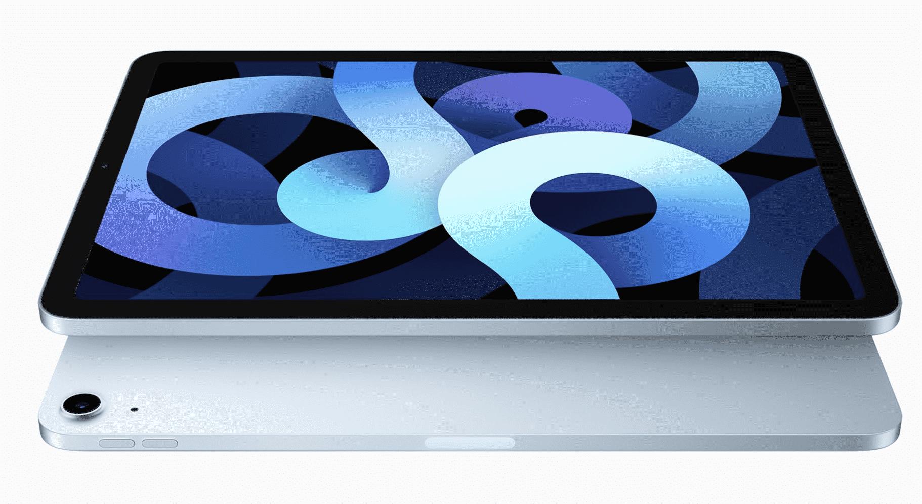Samsung Over 2022 iPad Air Display