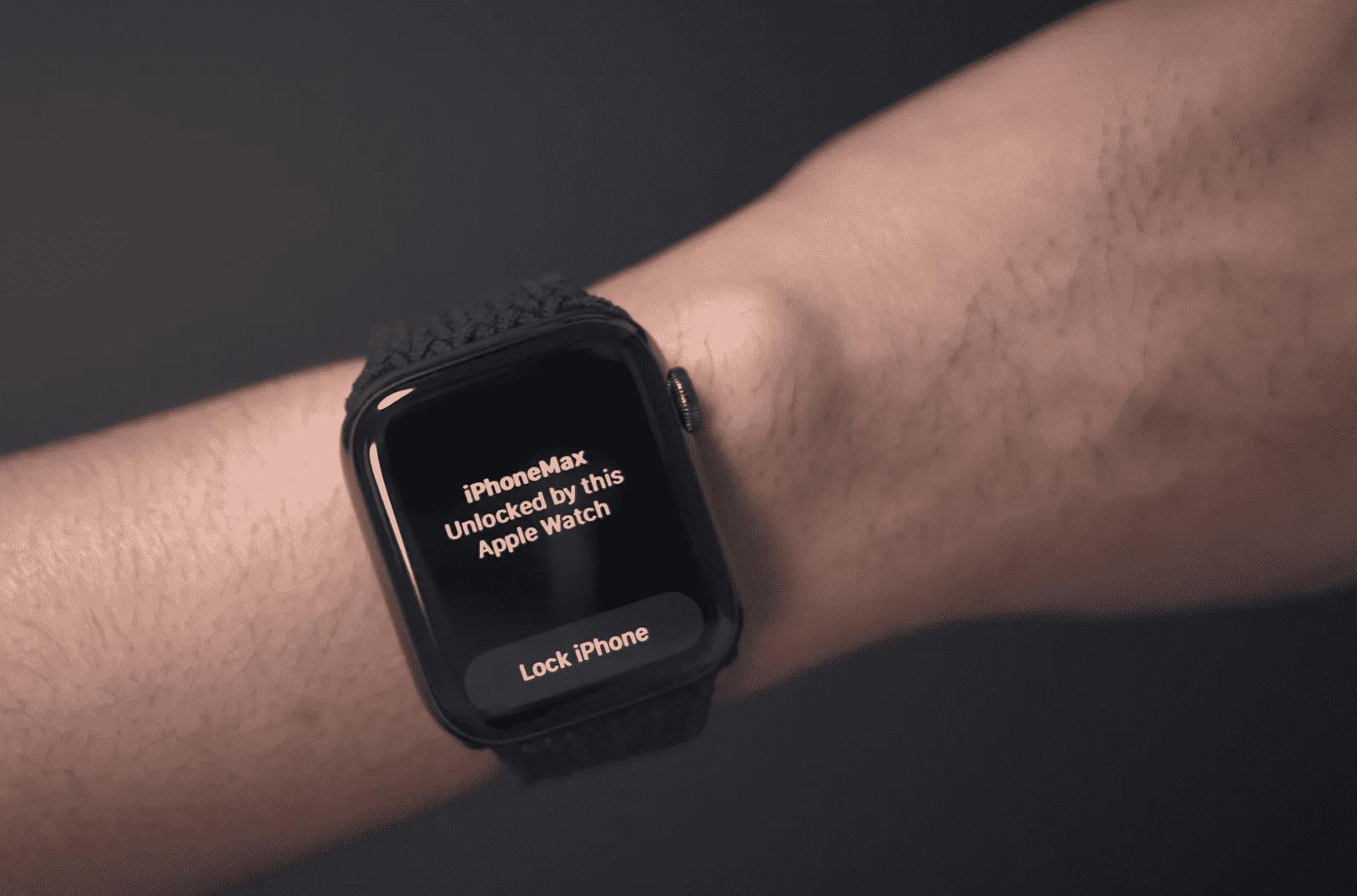 Unlock with Apple Watch