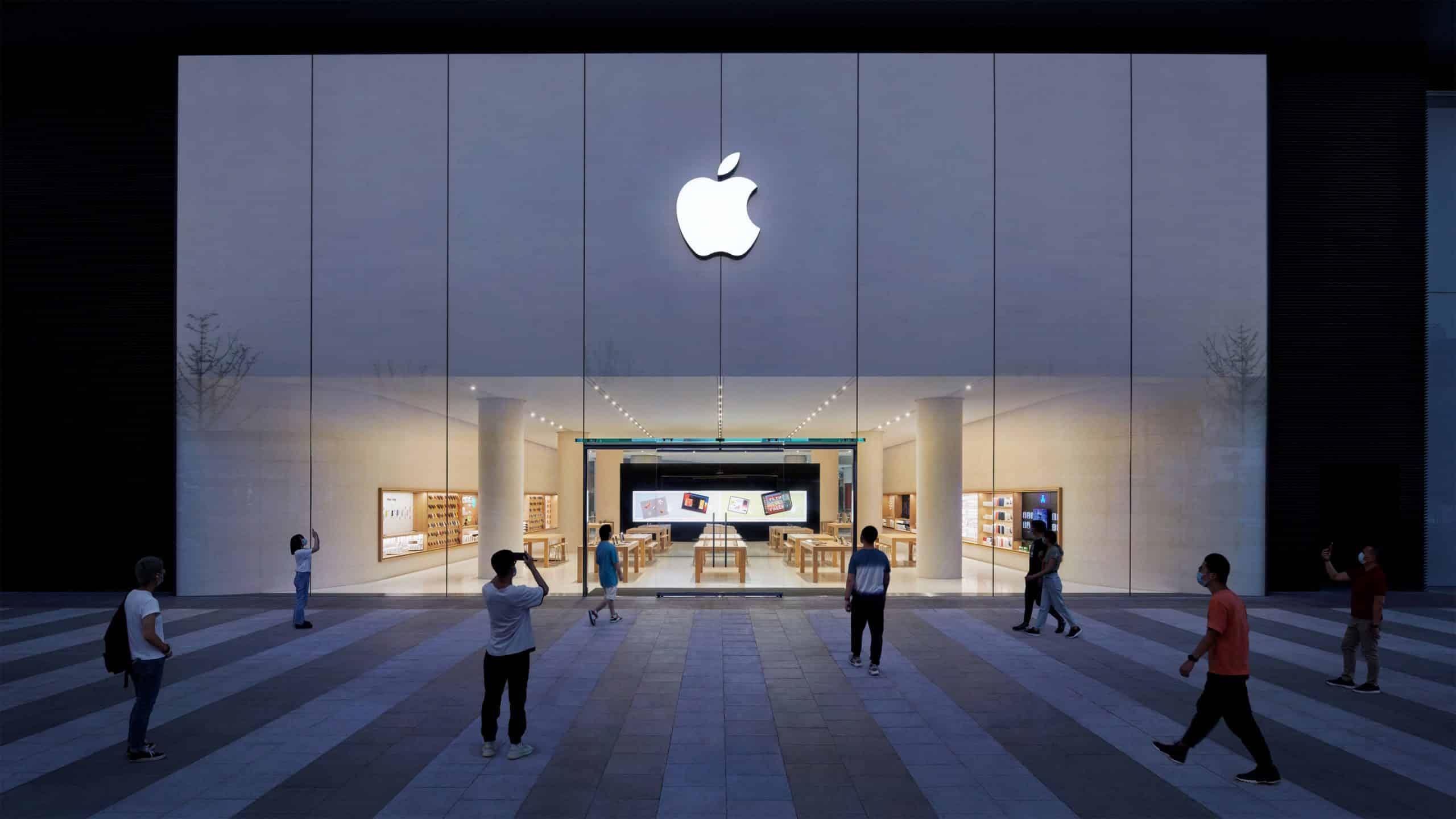Apple opens new store in Changsha, China