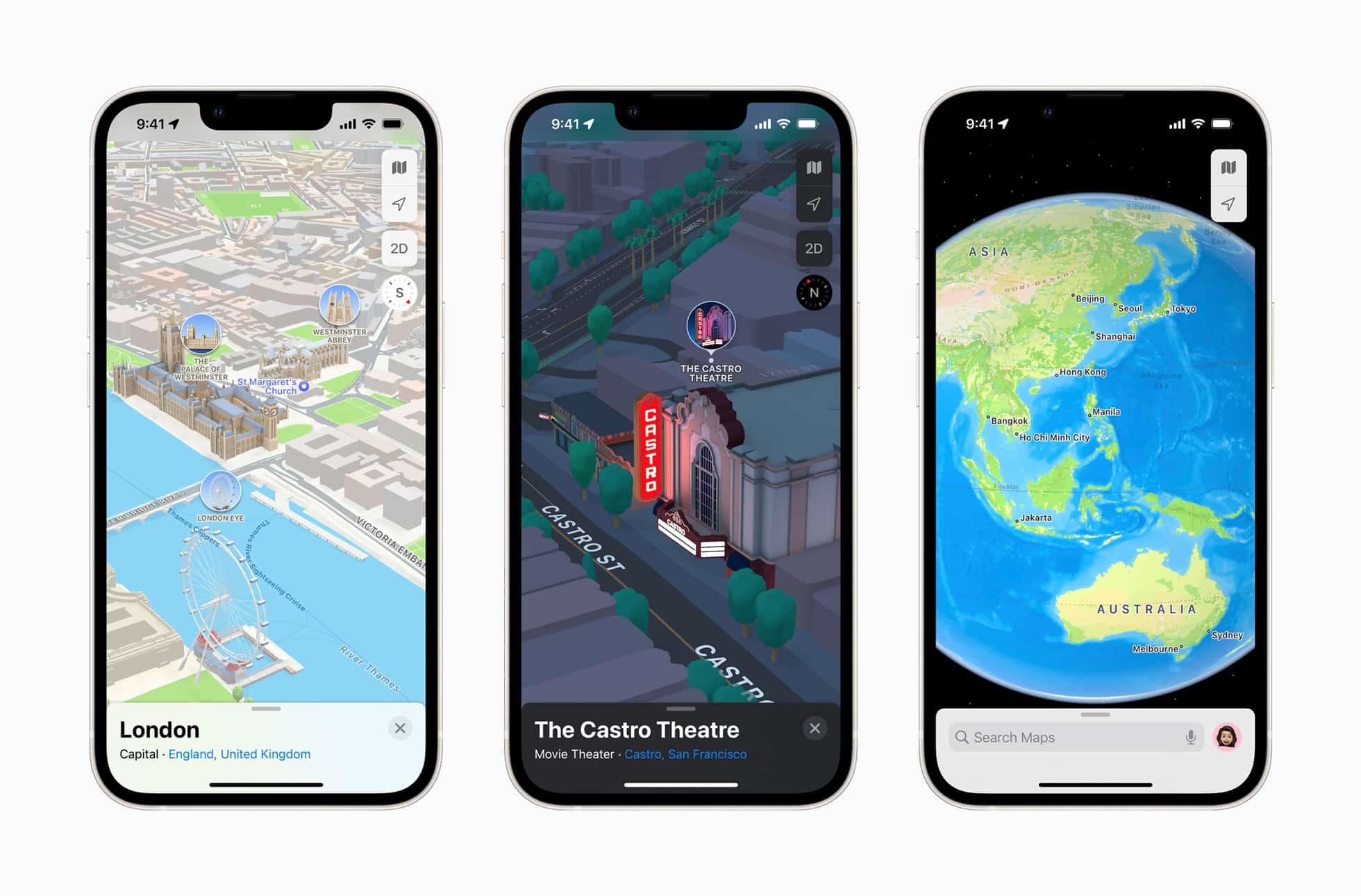 Apple Maps now offers new ways to navigate major cities in 3D