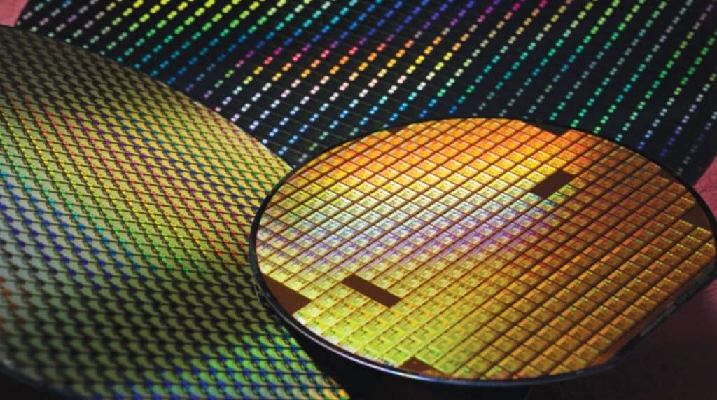 TSMC chip wafers