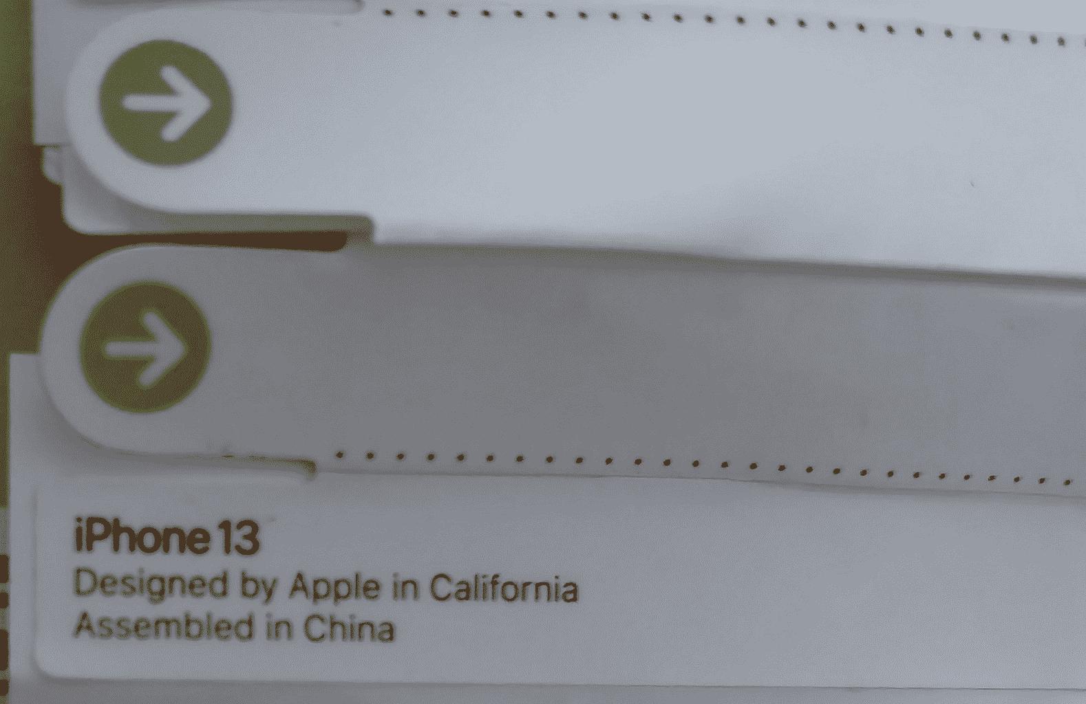 iPhone 13 Packaging