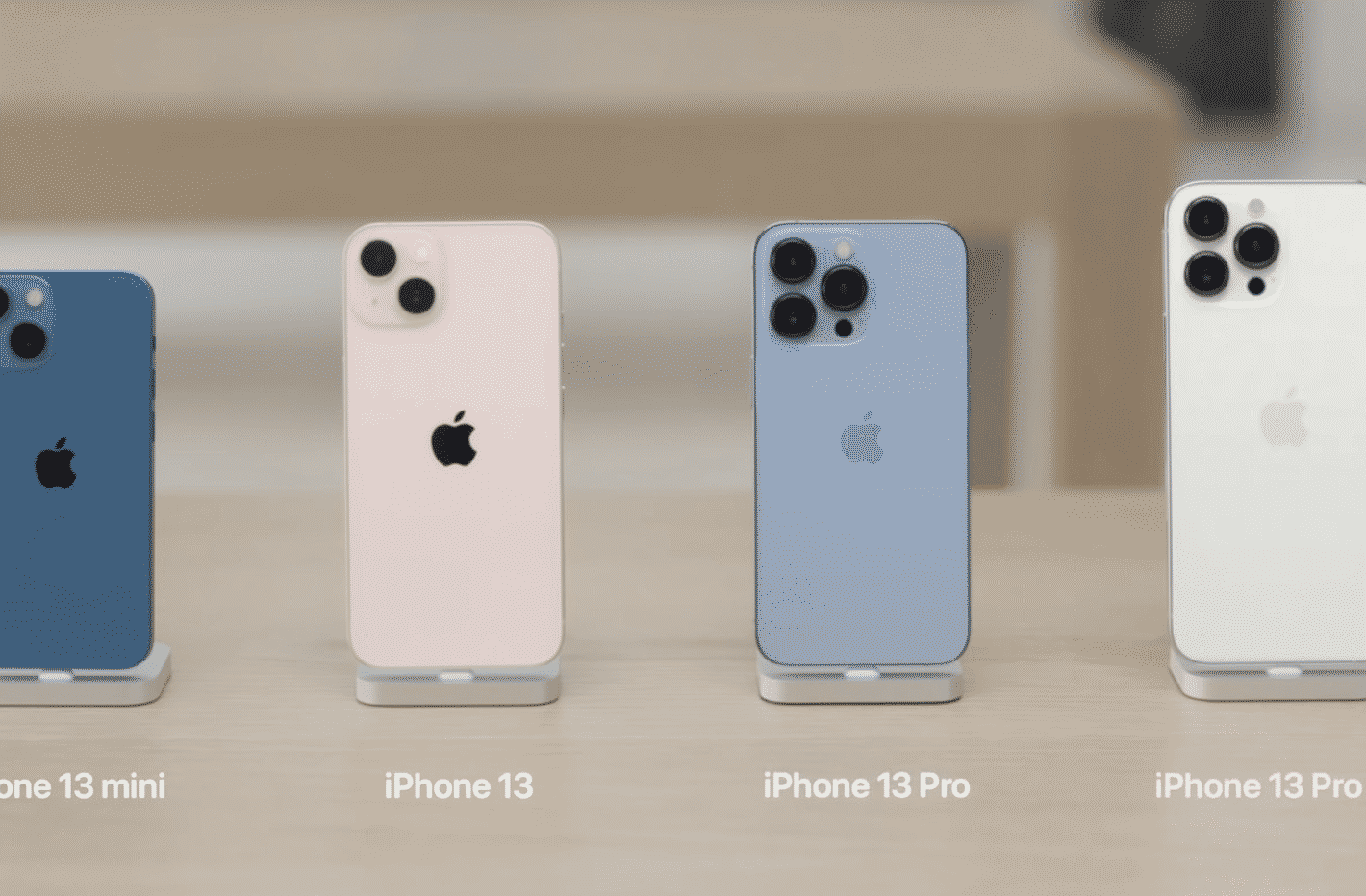 iPhone 13 Pro and iPhone 13