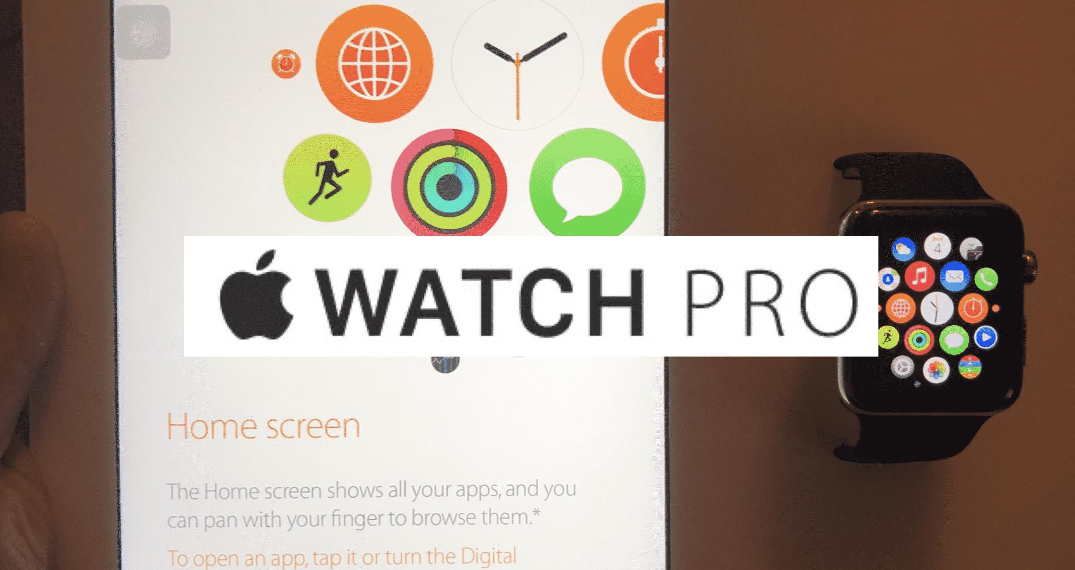 Apple Watch Pro