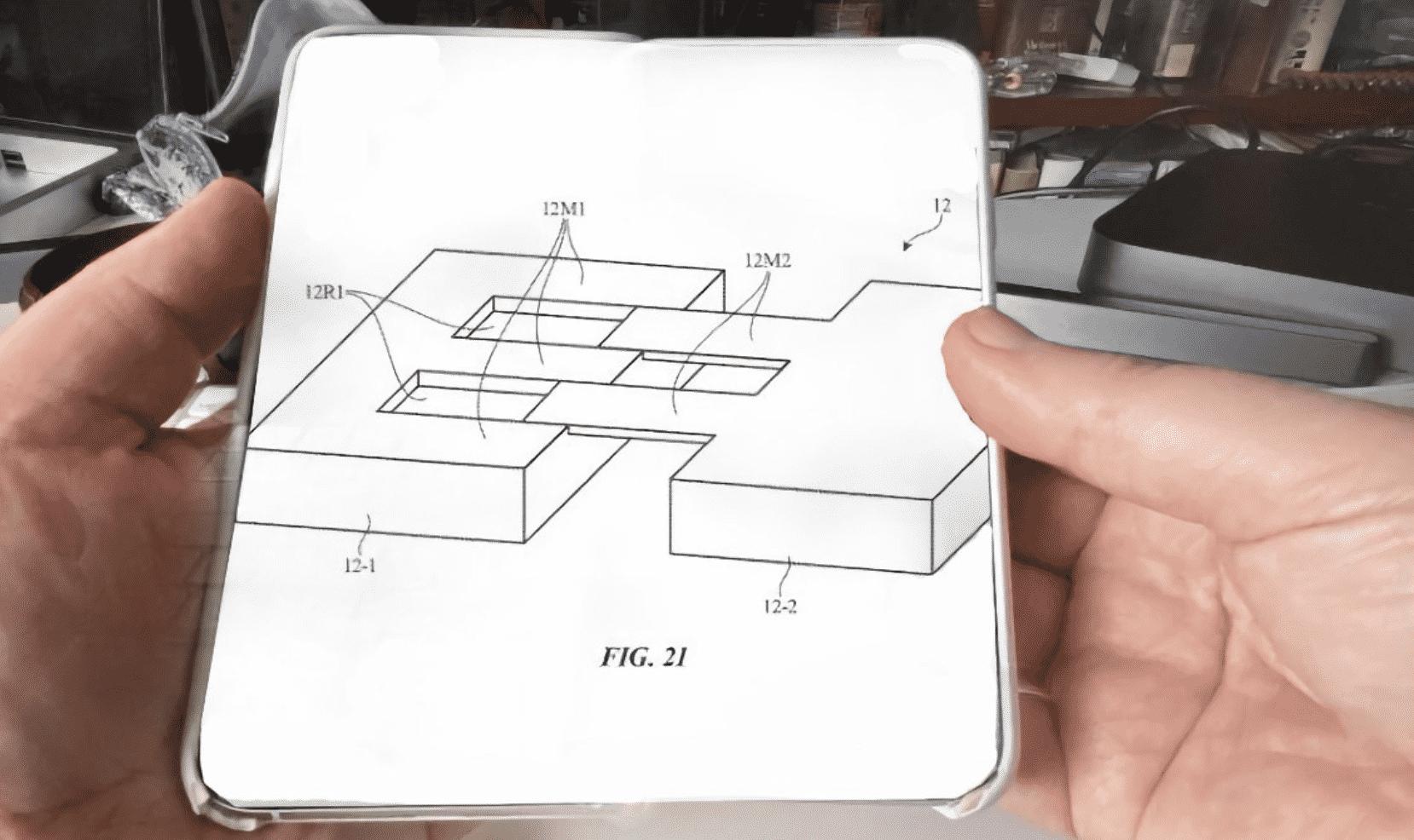 Apple's Folding iPhone Surface