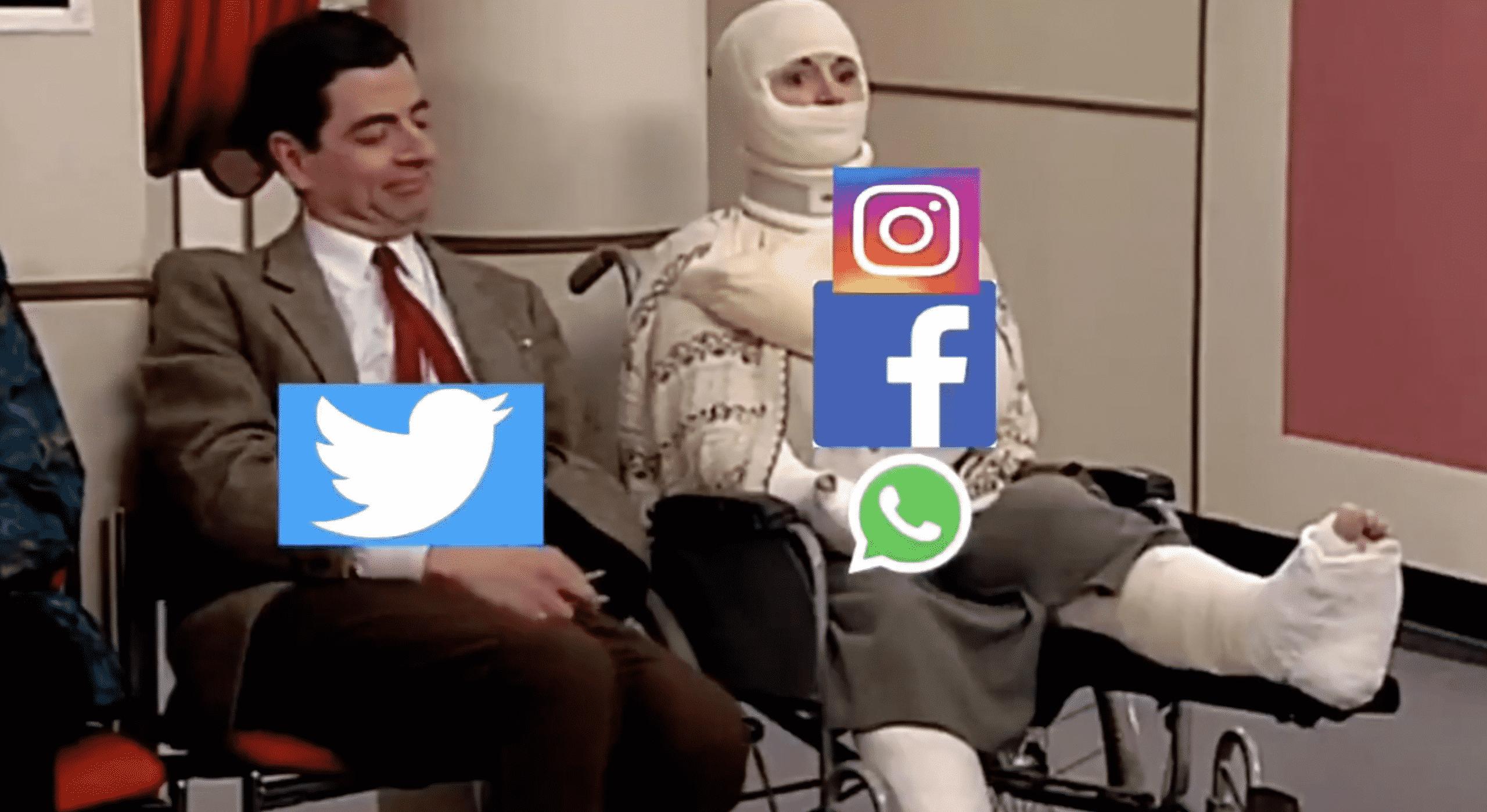 Facebook, Instagram, Messenger down memes